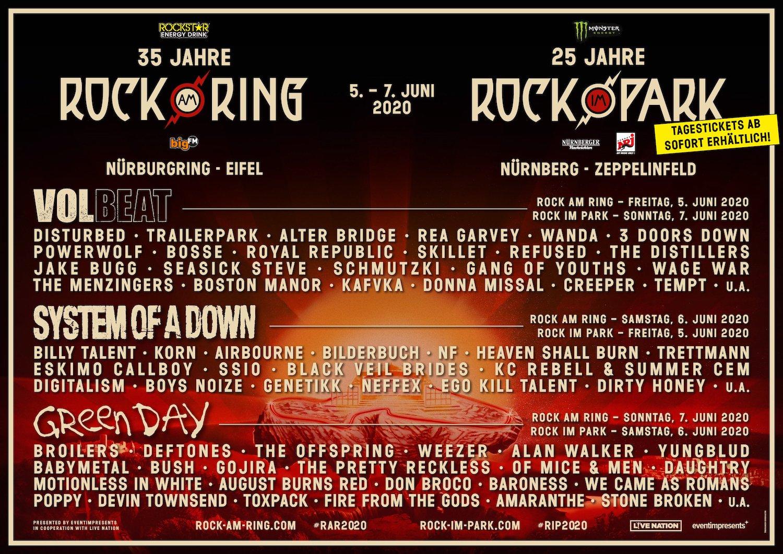 Rock Am Ring Programm